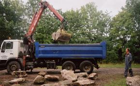 Sarsen Stone Delivery